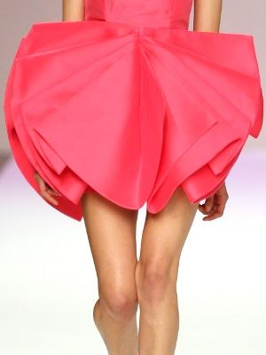 Amaya Arzuaga en el EGO de la Cibeles Fashion Week
