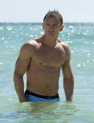 El torso de Daniel Craig elegido como el más sexy de Hollywood