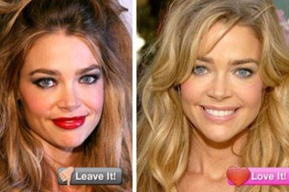 ¿Es correcto el maquillaje de las celebrities?