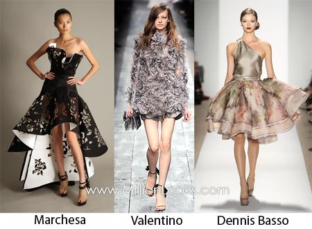 Tendencias en vestidos para la primavera/verano 2010 (II)