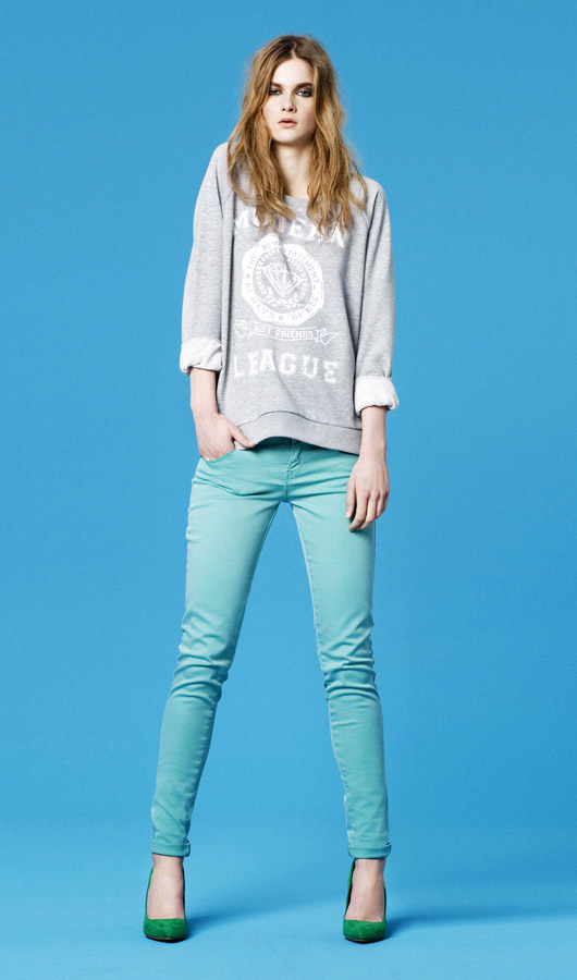 Zara Lookbook Febrero: colores, colores, colores