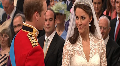 Boda del Príncipe Guillermo y Kate Middleton, «love is in the air»