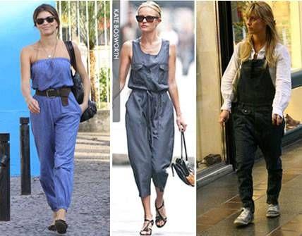 Las celebrities se apuntan a la moda de los monos o jumpers