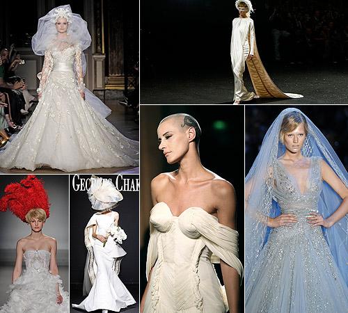 Alta Costura:Vestidos de novia, tendencias 2012