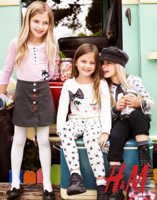 H&M, colección infantil Otoño-Invierno 2011-2012