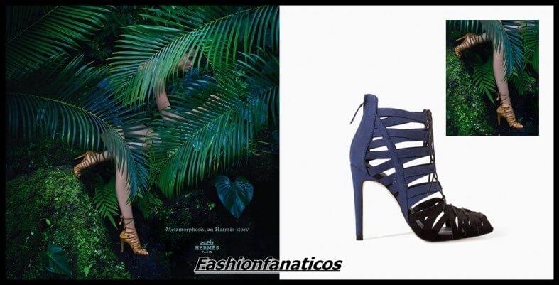 La similitud entre las sandalias de Hemés y Zara