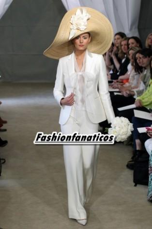 Carolina Herrera vestidos de novia Primavera-Verano 2013