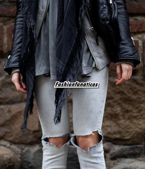 Rodillas al aire, nueva tendencia de moda