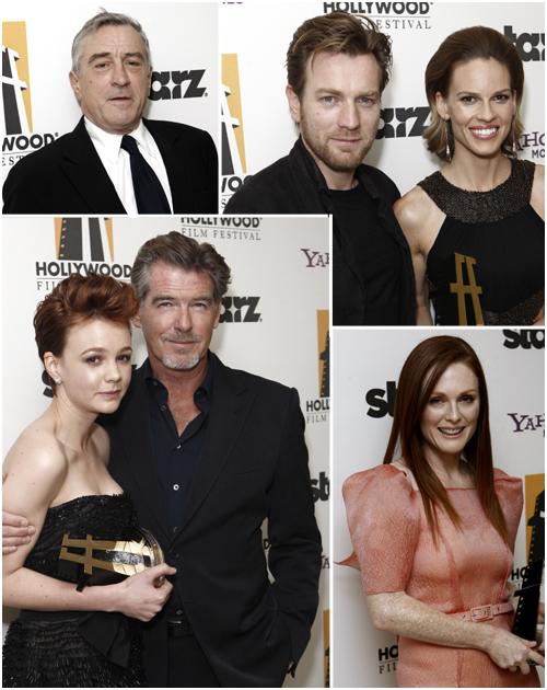 Las más bellas de la 13ª gala de Los Premios de Hollywood