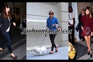 famosas con las slippers de moda