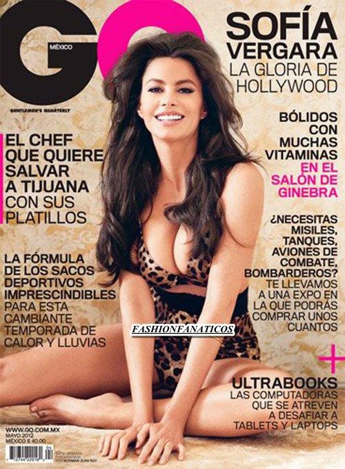 Sofía Vergara impresionante para GQ
