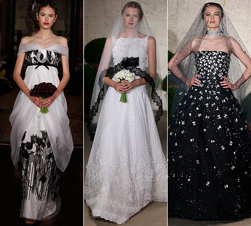 Vestidos de novia de Oscar de la Renta y Carolina Herrera