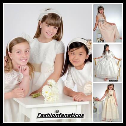 Vestidos de comunión, elige su propio estilo