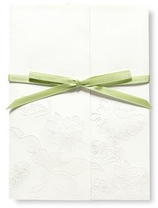 Invitaciones de boda diseñadas por Vera Wan