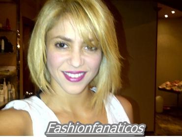 Shakira estrena corte de pelo