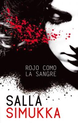 portada libro Rojo como la sangre