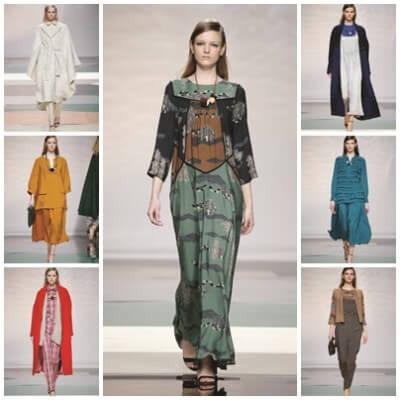 Modelos de Ailanto en la Mercedes Benz Madrid Fashion Week 2015/2016