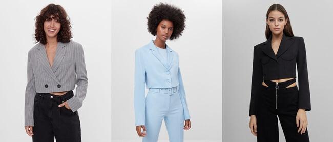 Americana Cropped, la chaqueta de moda de la temporada