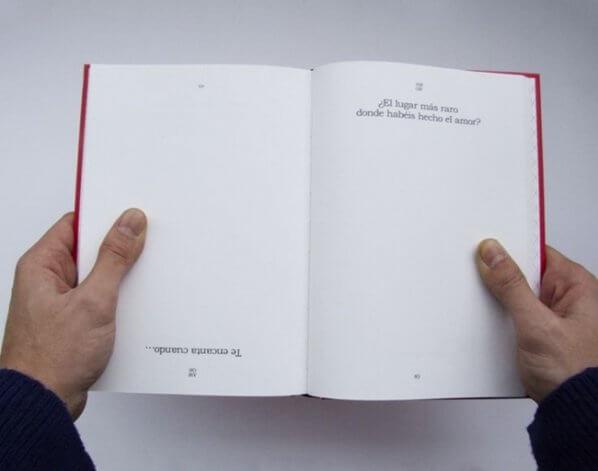 Amor, un libro escrito entre dos