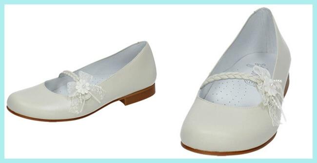 zapatos de comunión niña de Bambinelli