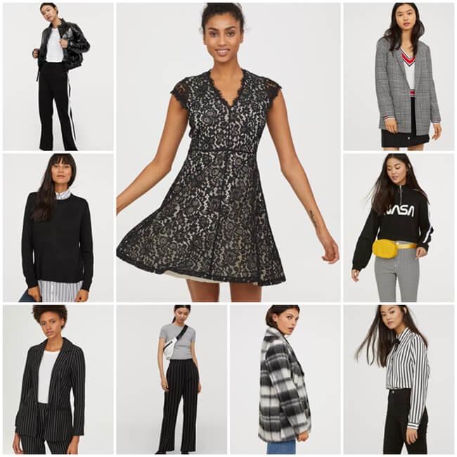 b4d2a77e Blanco y negro, los colores de moda