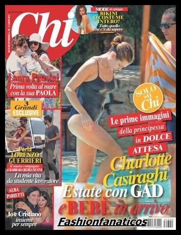 Se confirma el embarazo de Carlota Casiraghi