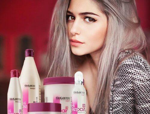 Con Hi Repair de Salerm Cosmétics tu cabello sano e hidratado durante todo el año
