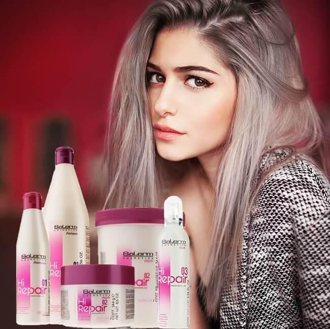 Con Hi Repair de Salerm Cosmetics tu cabello sano e hidratado durante todo el año