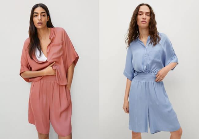 Conjuntos de Moda diseñados para destacar mango