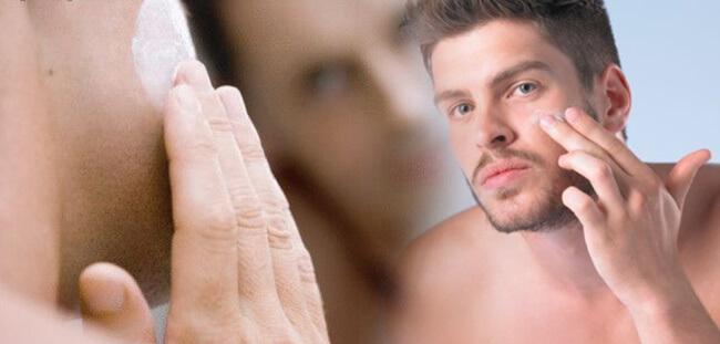 Cuidados de la piel masculina