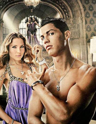 Elsa Pataky y Cristiano Ronaldo pareja… publicitaria