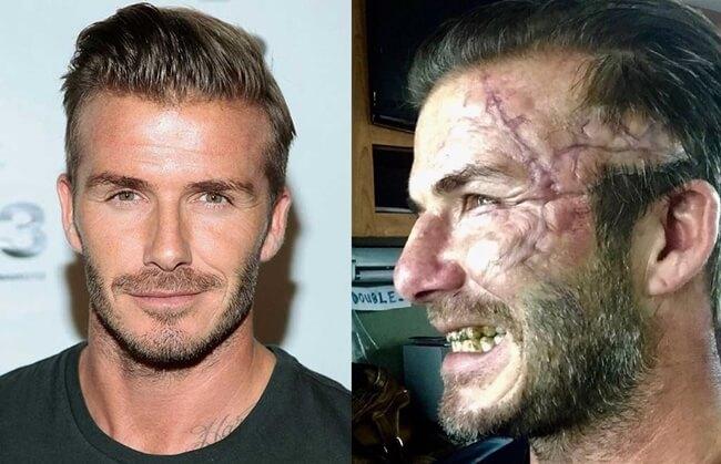El cambio de David Beckham para su próxima película