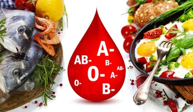 Dieta según tu grupo sanguíneo