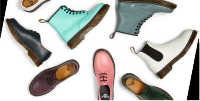 Dr. Martens apuesta por los colores menos conocidos de sus botas