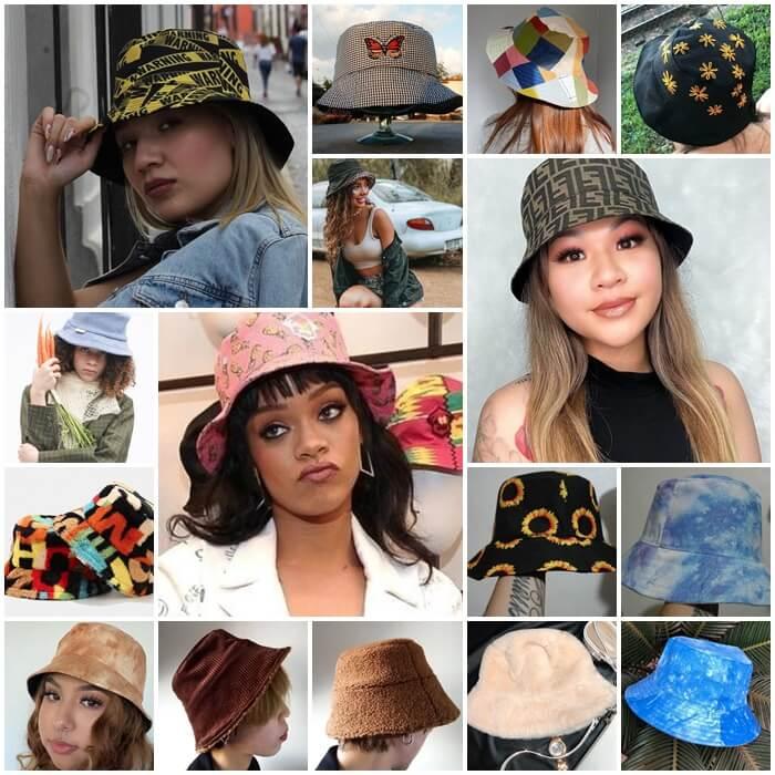 El Bucket Hat se convierte en el accesorio más cool del momento