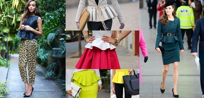 El Peplum sigue marcando tendencias!