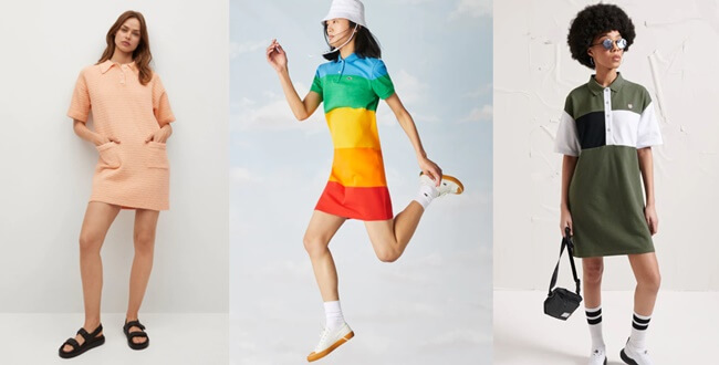 El Vestido Polo se convierte en la silueta preferida del verano