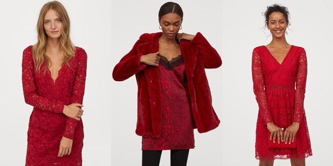 El color rojo sigue de moda en Nochevieja