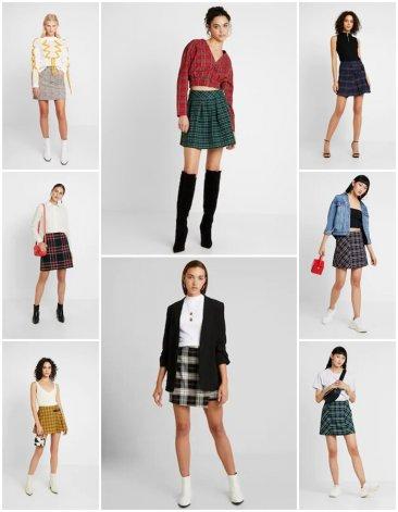 El look colegiala vuelve a ser tendencia