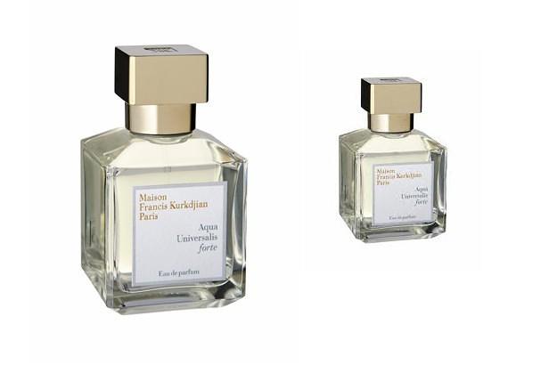 Aqua Universalis Forte, el nuevo perfume de Francis Kurdjian