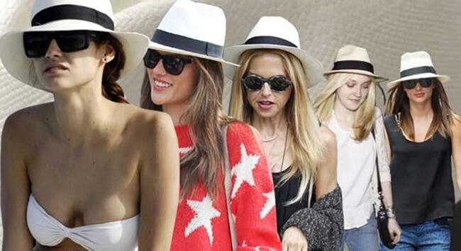 El sombrero Panamá, un must del verano