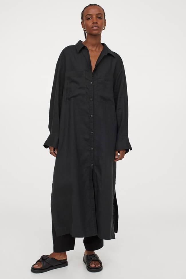 Este es el Vestido Camisero que necesitas para estar lista en cinco minutos