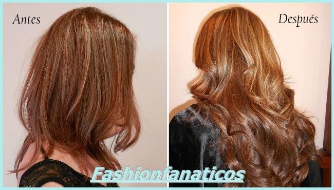 Extensiones de cabello, cómo se hacen