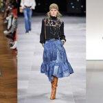 Faldas Vaqueras Midi, la tendencia más demandada
