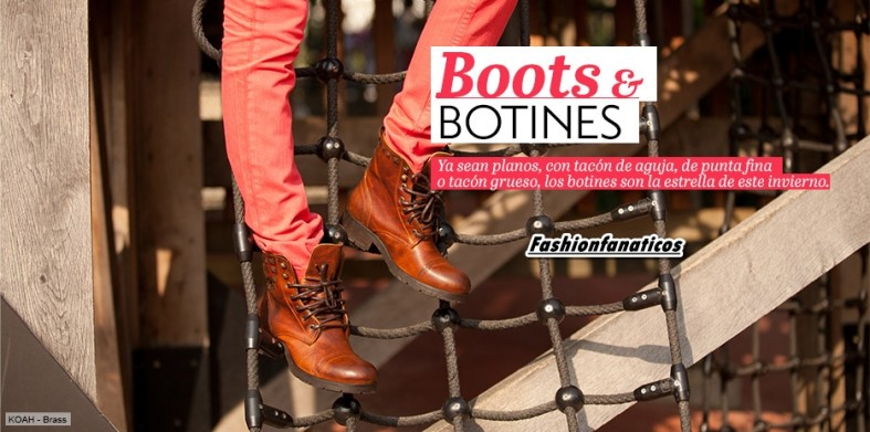 Boots y Botines Otoño-Invierno 2012-2013 de Sarenza
