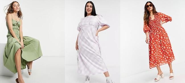 Ideas inspiradoras que te ayudarán con tus Vestidos de ASOS
