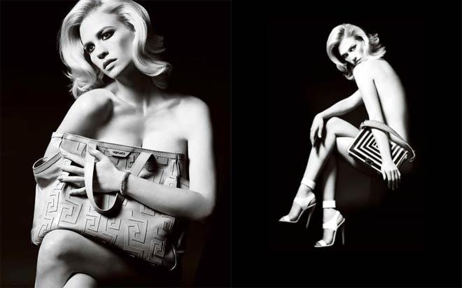 January Jones se desnuda para Versace