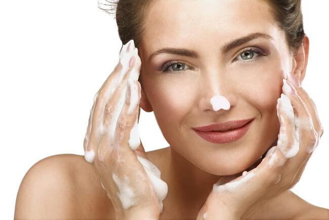 La limpieza del rostro