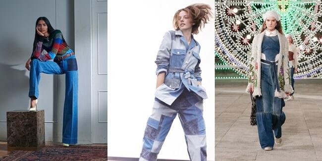 La micro tendencia del patchwork denim que los diseñadores aman