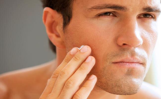 La piel masculina, sus cuidados.
